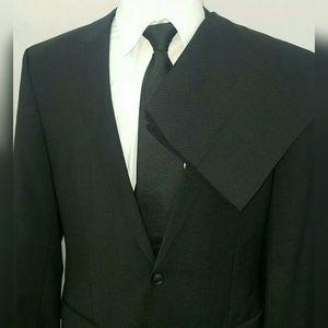 Hugo Boss Queen/Sharp Suit Wool Peak Lapel 42L